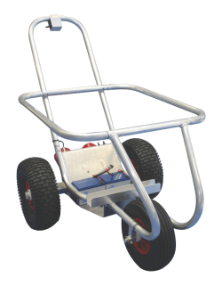 Upgrade your manual Seahorse™ Beach Trolley to Motorised Trolley