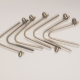 Trolley Spring clips - set of 8